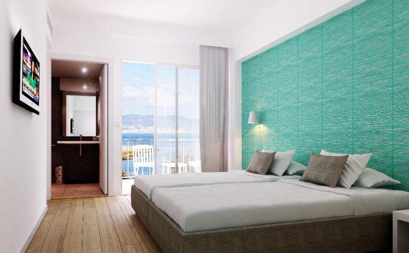 Así quedarán las renovadas habitaciones del hotel,