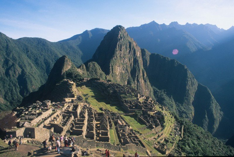 Ruinas de Machu Picchu, Perú.
