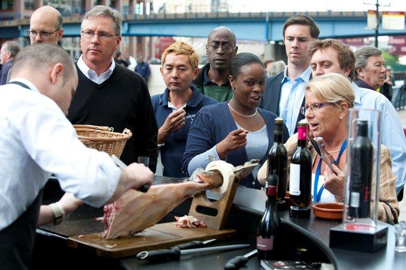 Foto de archivo de una acción de promoción turística organizada por Turespaña en Londres.