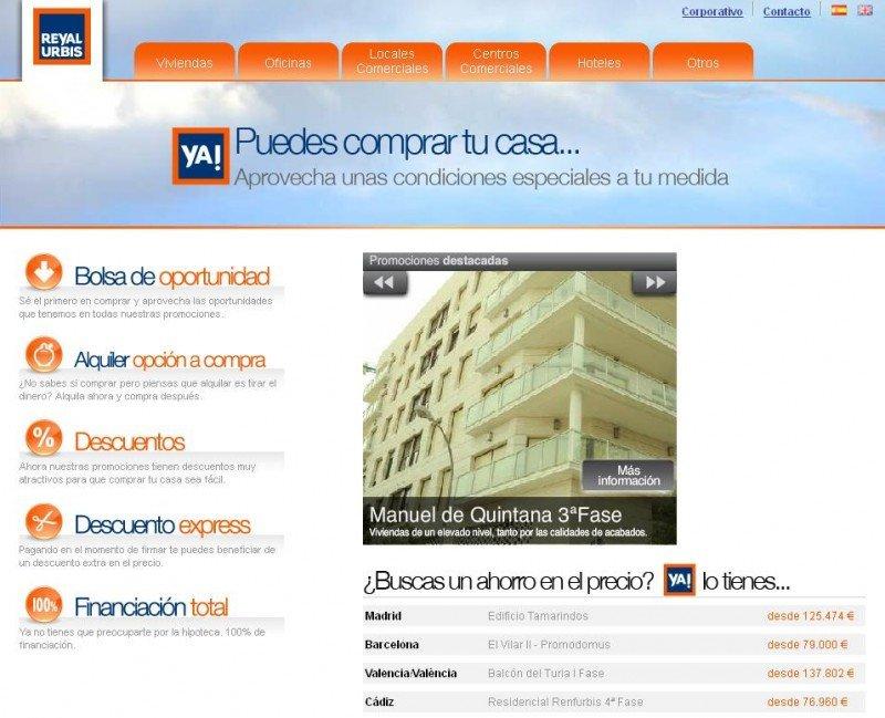 Reyal Urbis solicita concurso de acreedores.