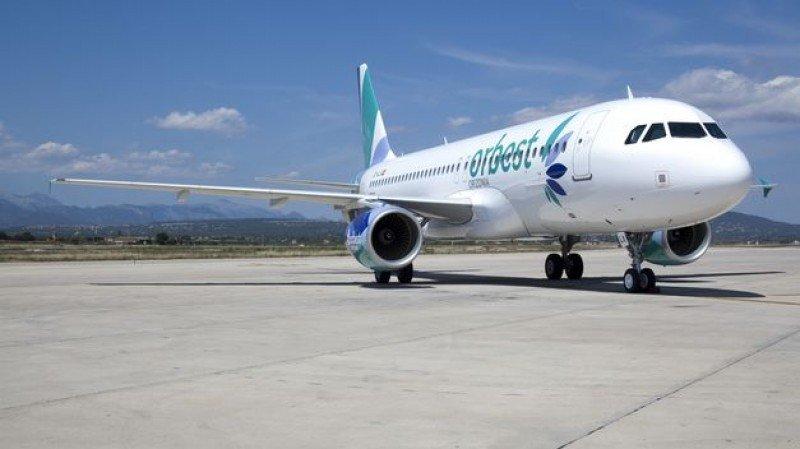 Uno de los aviones de Orbest, aerolínea del grupo turístico Orizonia.