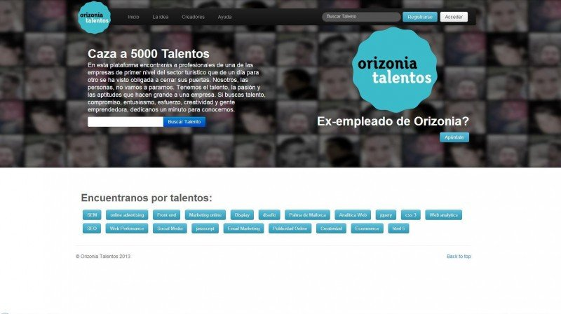 Los trabajadores de Orizonia ofrecen su talento en la red