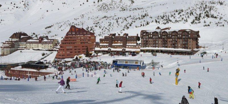 Estación de esquí de Astún, el pasado 16 de febrero.