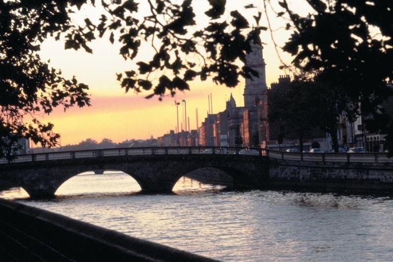 Una imagen de Dublín, la capital de Irlanda.