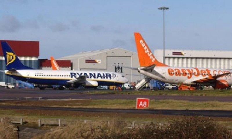 Los aviones de las low cost europeas registraron una ocupación media del 83% en 2012.