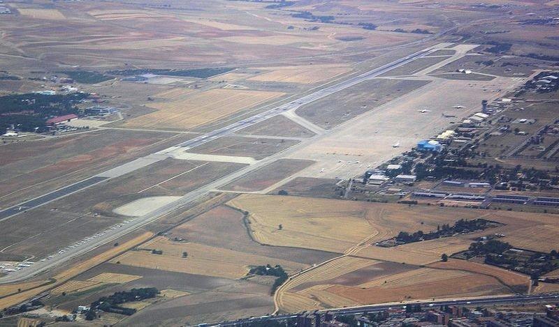 Aeropuerto de Torrejón de Ardoz. Imagen: Wikimedia Commons / Kadellar.