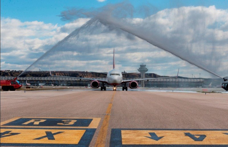 Airberlin estrena su nueva ruta a Berlín desde Madrid-Barajas