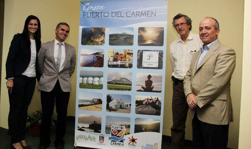 Presentación del proyecto de Puerto del Carmen, Lanzarote.