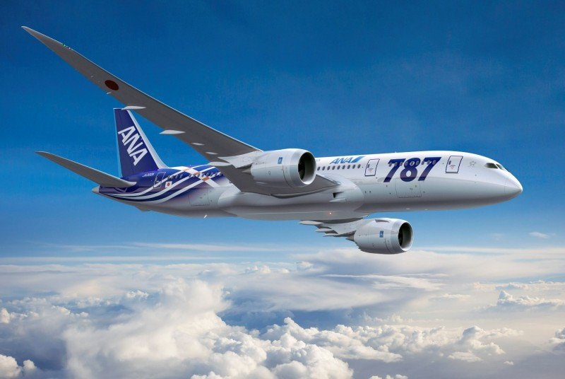 ANA cancela sus vuelos con el B787 Dreamliner hasta finales de mayo