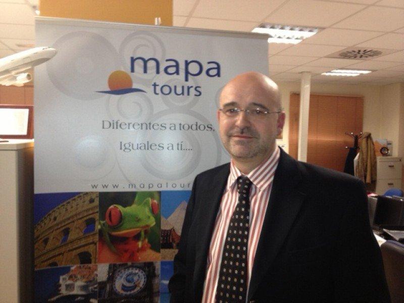 Alberto Díaz, director General del grupo Mapa Tours