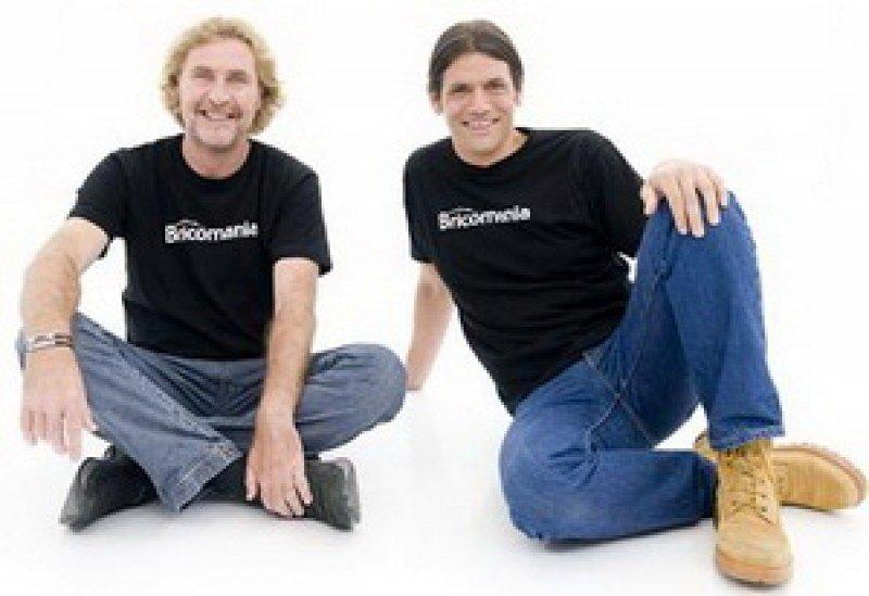 Modelo BRIColaje Christian e Iñigo de 'Bricomanía'.