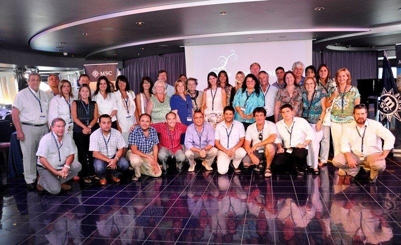 El presidente de UAVI destacó la alta concurrencia a la asamblea en el MSC Magnífica