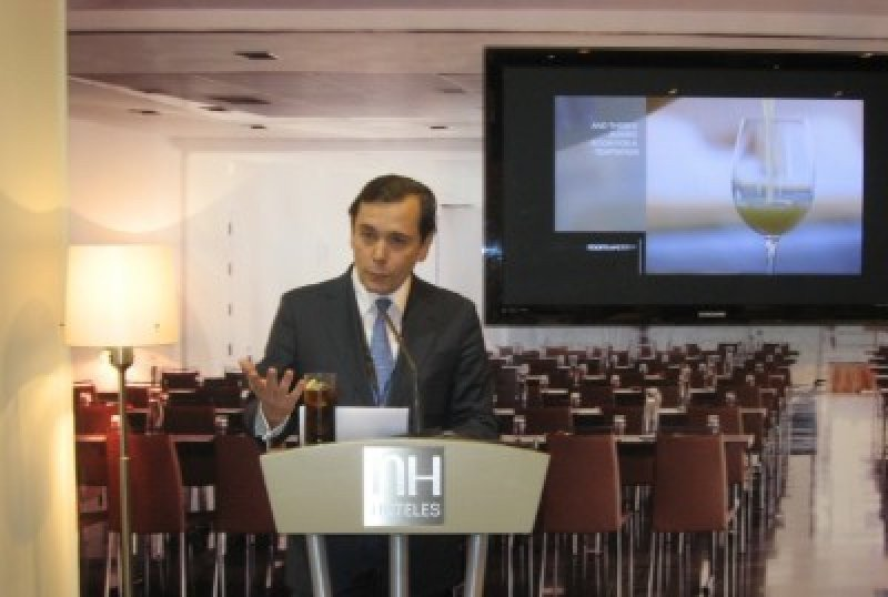 Federico González Tejera, consejero delegado de la cadena en su primera comparecencia pública desde que asumió en diciembre