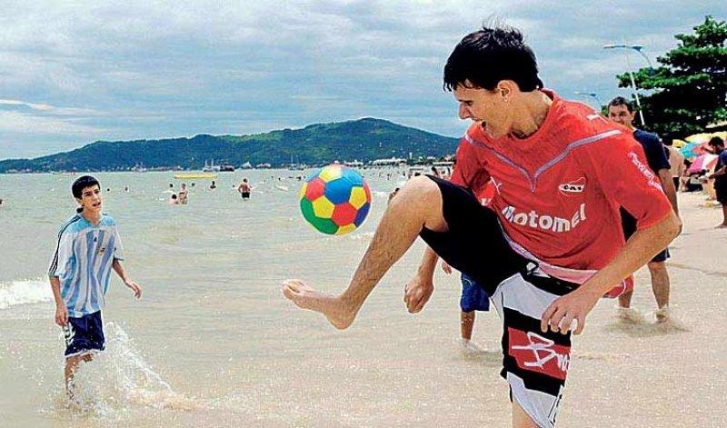 Brasil fue uno de los destinos elegidos para vacacionar.