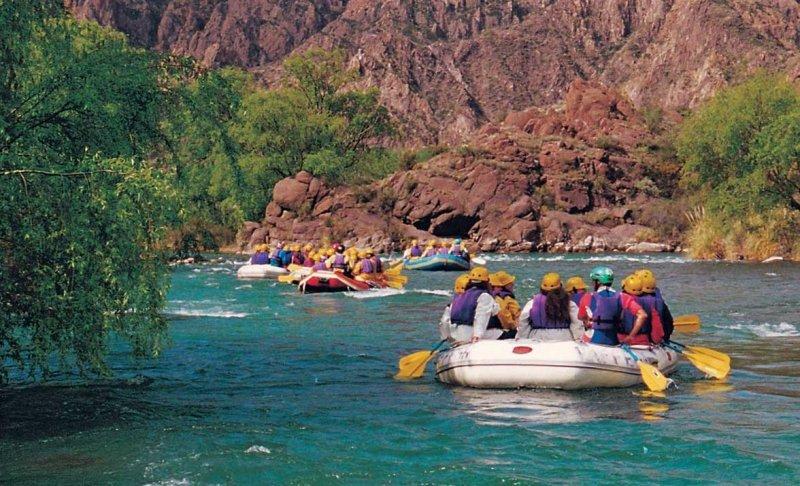 En destinos con turismo aventura la ocupación supera el 90%.