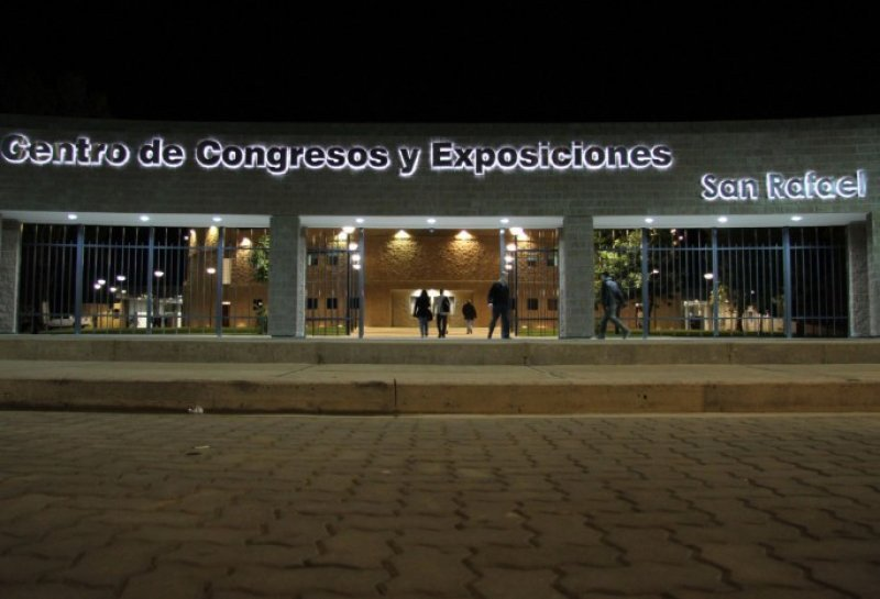 Centro de convenciones de San Rafael.