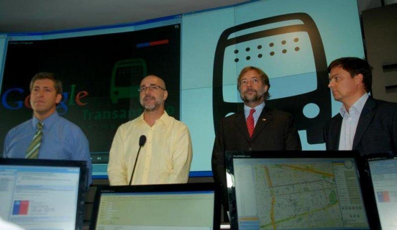 Google Maps permitirá planificar viajes en transporte público por Santiago de Chile.