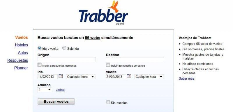 """Metabuscador Trabber ingresa a Perú para """"complementar"""" trabajo de agencias."""
