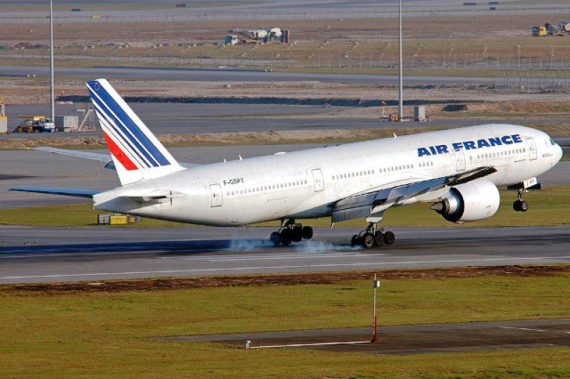 Air France servirá la ruta a Montevideo con aviones Boeing 777-200ER como el de la foto