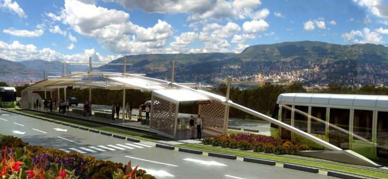 La constructora OHL logra obras del tranvía de Medellín por US$ 94 millones.