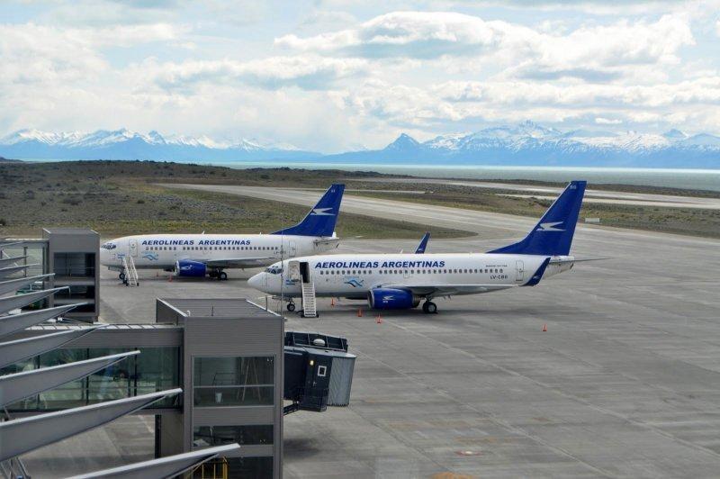 Presidenta inauguran ampliación del aeropuerto de El Calafate