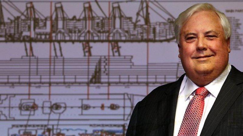 El australiano Clive Palmer financiará la construcción del Titanic II.