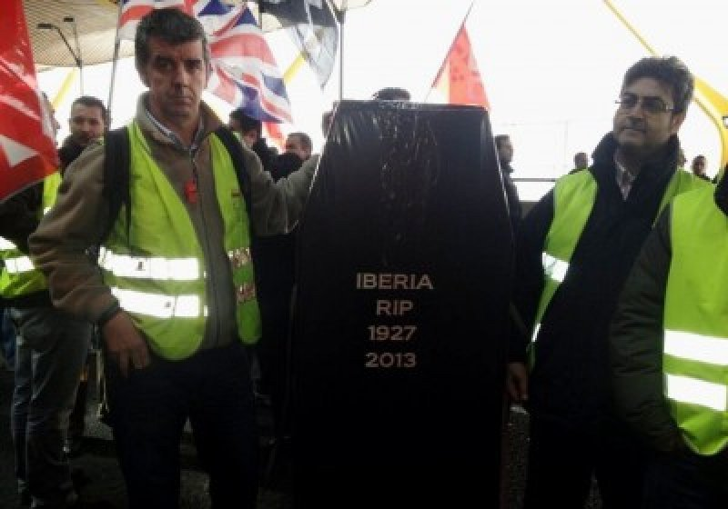 Iberia cancela 257 vuelos este miércoles en tercer día de paros