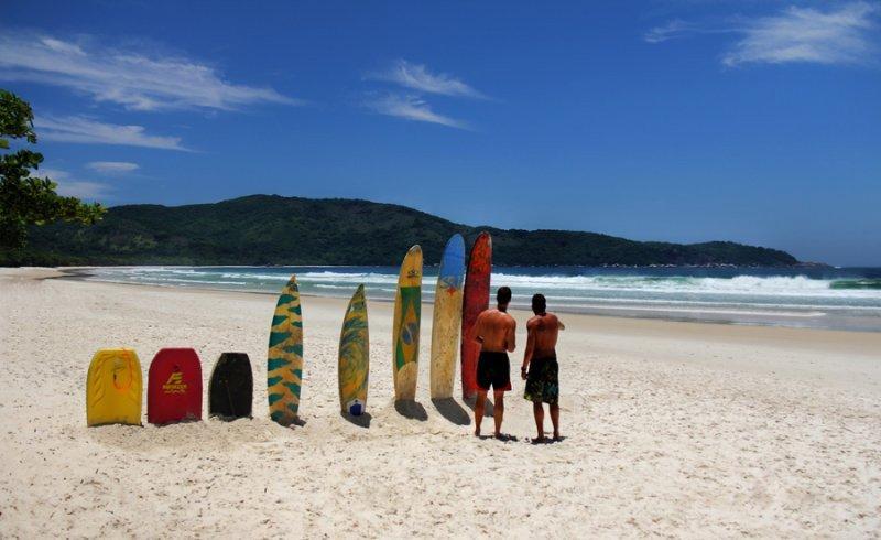 Lopes Mendes Beach, Brasil.