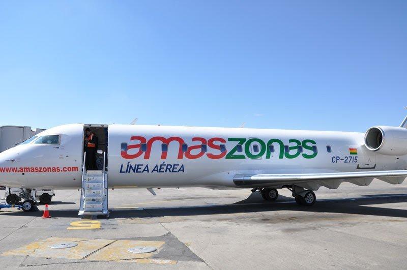 Amaszonas espera autorización para unir Bolivia con norte argentino.