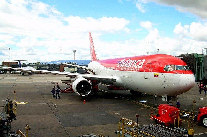 Avianca operará los dos vuelos que llegarán a Bogotá.