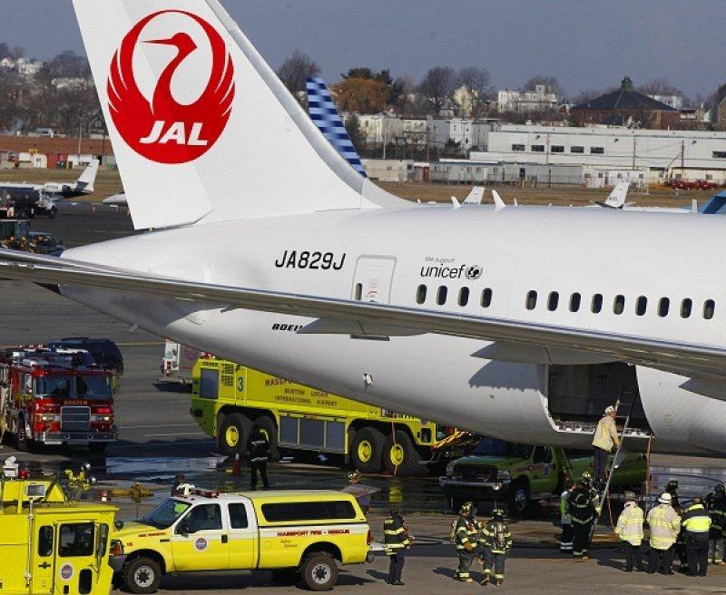 Uno de los 787 que tuvo problemas en enero era de Japan Airlines
