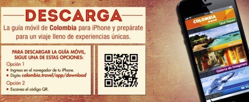 Colombia presenta una aplicación móvil para planear viajes al país