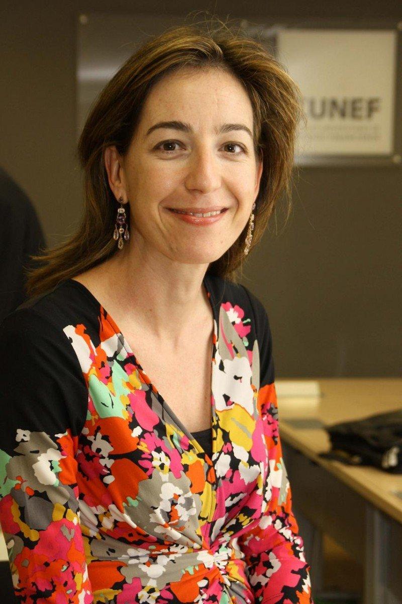 Beatriz Puente se hará cargo de la Dirección Financiera de Aena tras ocupar el mismo cargo en Vocento. Foto: CUNEF.