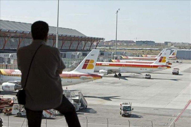 La huelga de los trabajadores de Iberia se reanuda este lunes día 4.