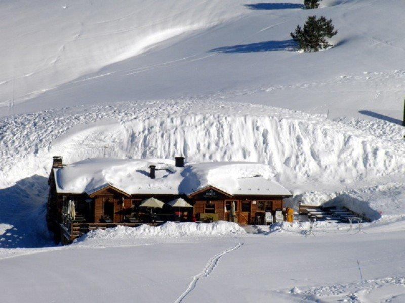 Así se encuentra el Espacio Moet Winter Lounge en Baqueira Beret.