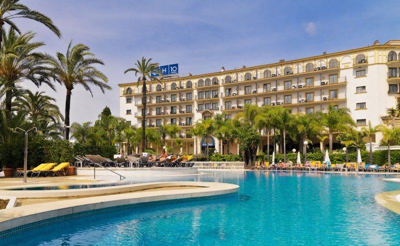 Hotel H10 Andalucía Plaza.