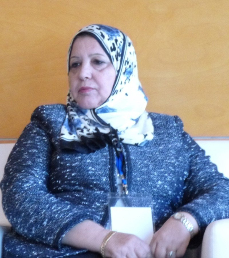 La ministra de Turismo de Libia, Ikram Bash Imam.