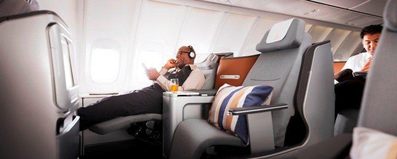 Nueva cabina Business Class.
