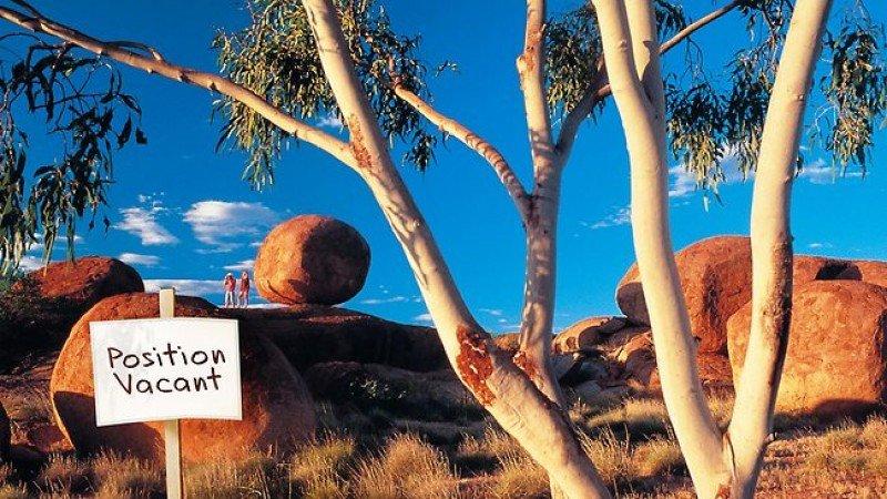Aventurero en el Territorio del Norte australiano es uno de los seis mejores empleos del mundo que ofrece la promoción.