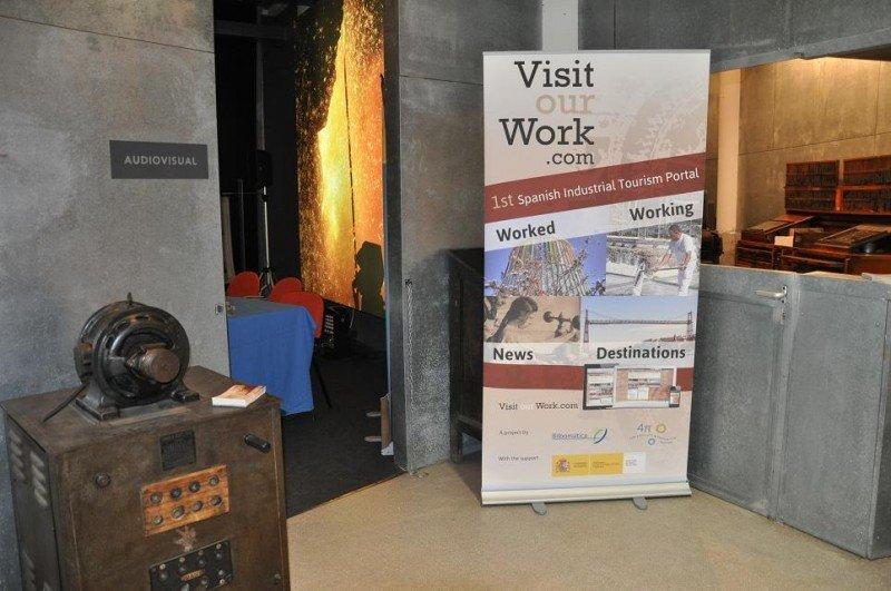 El portal VisitOurWork reúne la oferta de patrimonio industrial (worked) y de visita a industria viva (working).