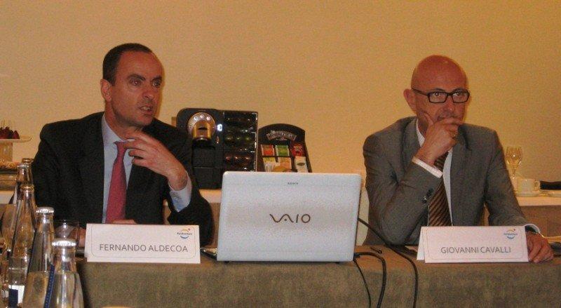Fernando Aldecoa y Giovanni Cavalli.
