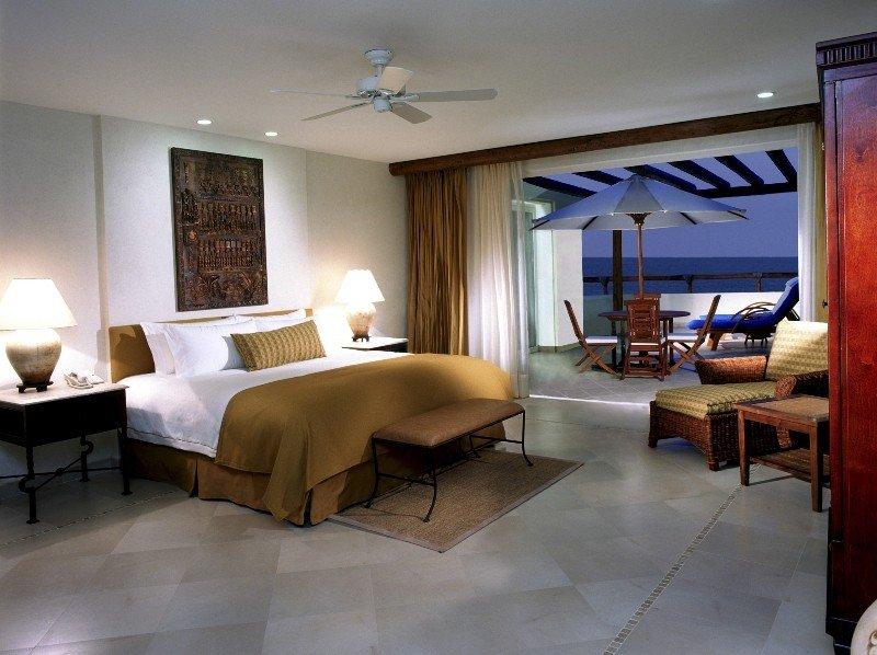 Suite perteneciente a un condohotel.