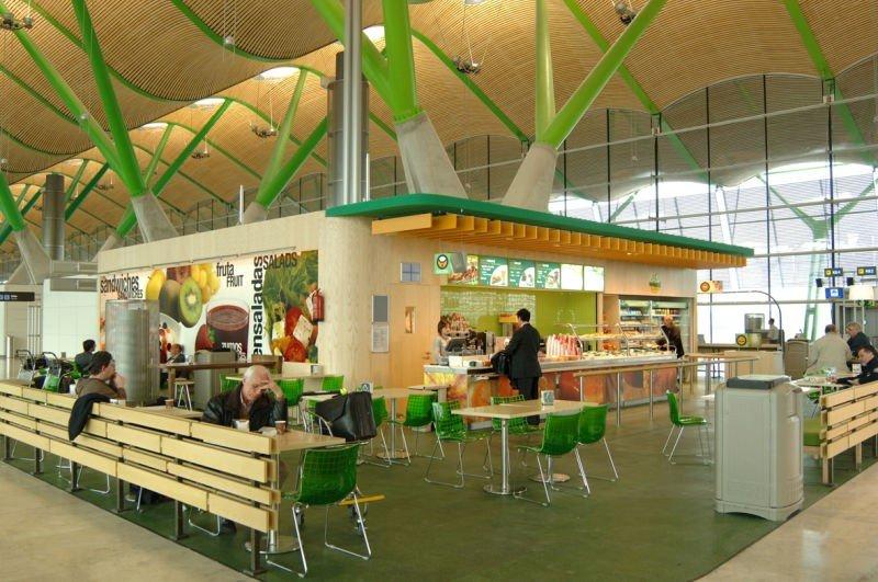 Áreas gestionará 47 locales del Aeropuerto de Madrid-Barajas.