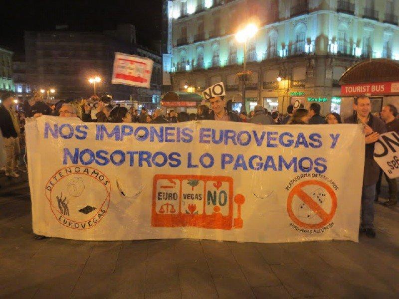El Defensor del Pueblo da continuidad a la queja de la plataforma Eurovegas NO.