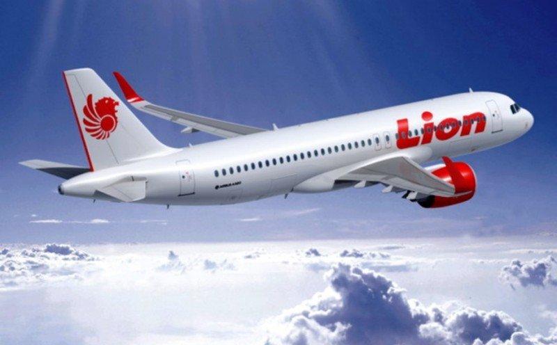 Imagen digitalizada del prototipo de A320neo adquirido por la low cost Lion Air.