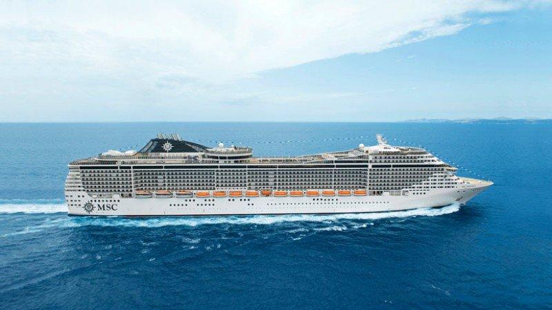 MSC Cruceros recibe su nuevo crucero MSC Preziosa