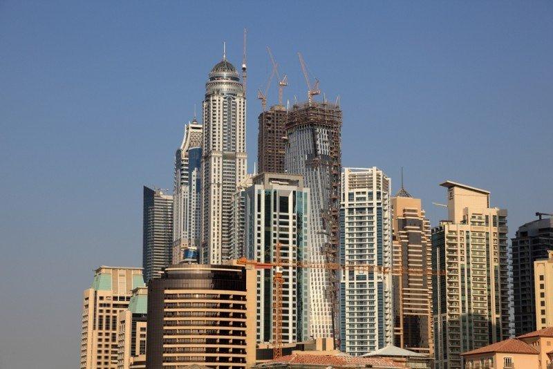 El Golfo Pérsico, escenario elegido por las grandes cadenas internacionales para su expansión. En la imagen, Dubai. #shu#