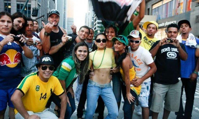 Los turistas brasileños gastaron más de 1.400 M € fuera de su país.