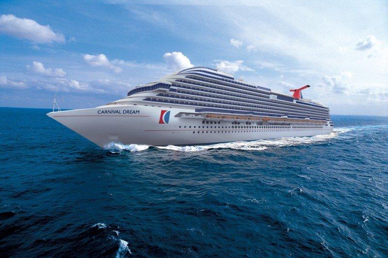 El Carnival Dream vuelve a navegar tras su reparación