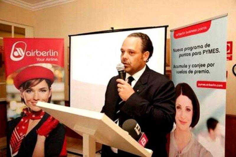 Pablo Caspers se incorpora al equipo directivo central de airberlin
